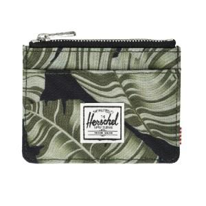 Herschel Supply Co. Men's Oscar RFID Wallet, black palm