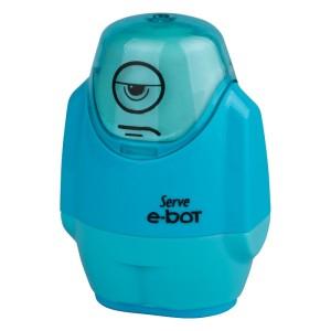 Serve E-Bot - Fluo Colours Eraser & Sharpener