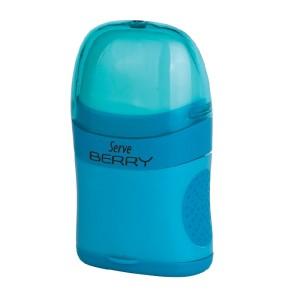 Serve Berry - Fluo Colours Eraser & Sharpener