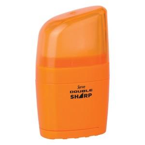 Serve Double Sharp - Pastel Colours Eraser & Sharpener
