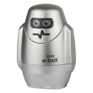 Serve E-Bot - Metallic Colours Eraser & Sharpener