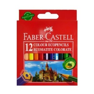 Faber-Castell Pack Of 12 Hexagonal Classic Colour Pencil