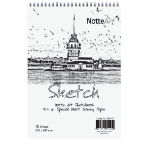 Notte Drawing Sketch Book