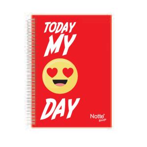 Notte Emoji Mini Notebook
