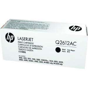 HP 12AC (Q2612AC) Black Toner Cartridge