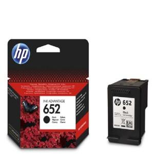 HP 652 Black Original Ink Cartridge (F6V25AE)