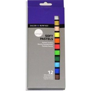 Daler Rowney Simply Soft Pastels 12 colors