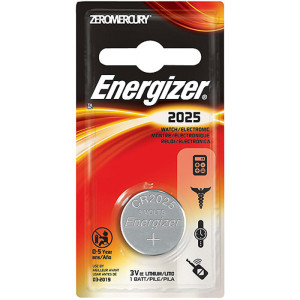 Energizer 2025 Lithium Coin Battery 1 Pack