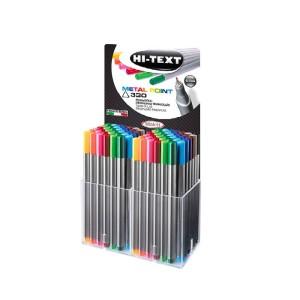 HI-TEXT Fineliner Metal point pen