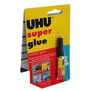 UHU Super Glue, gel 3g